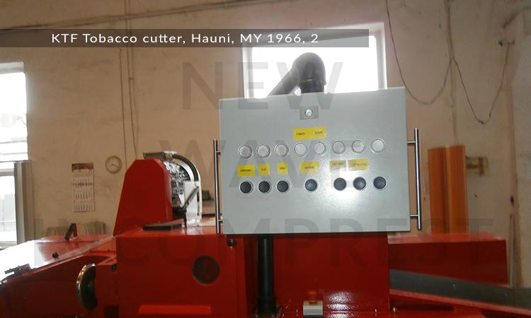 KTF-Tobacco-cutter,-Hauni,-MY-1966,-2